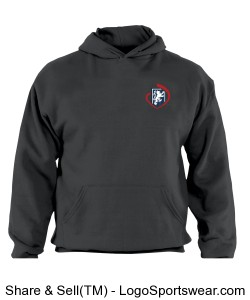 Adult Sizes: Russell Dri POWER Pullover Hooded Sweatshirt Design Zoom